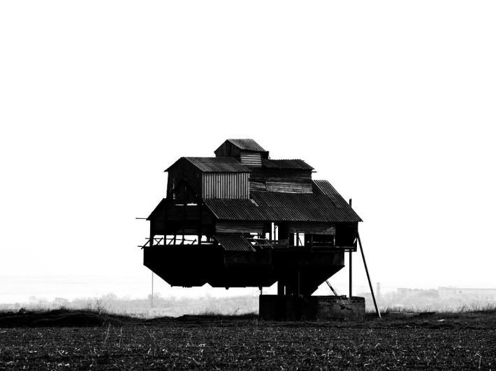 Topsoil Erosion House